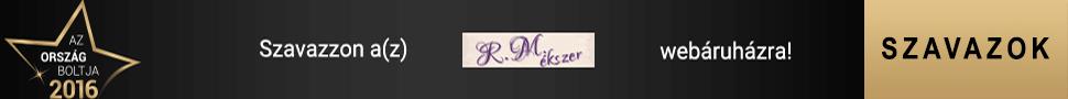 Szavazz az R.M.ékszer webáruházra!