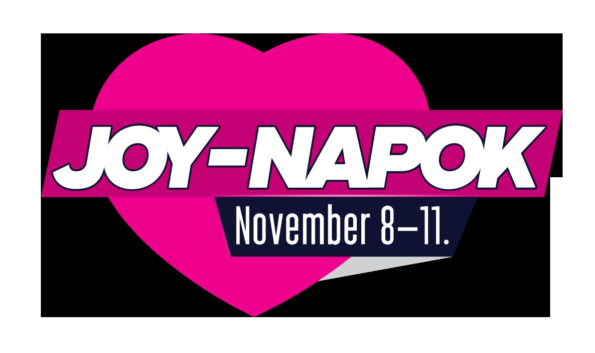 Joy-napok november 8-11.