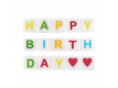 Kép 2/3 - LOVE LETTERS gyertya Happy Birthday 15db