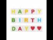 Kép 1/3 - LOVE LETTERS gyertya Happy Birthday 15db