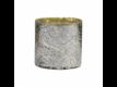 Kép 1/4 - DELIGHT mécsestartó antik ezüst 11cm