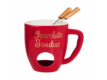 Kép 2/6 - CHOCOLATE FONDUE fondue bögre piros