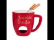 Kép 1/6 - CHOCOLATE FONDUE fondue bögre piros