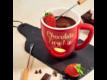Kép 6/6 - CHOCOLATE FONDUE fondue bögre piros