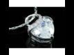 Kép 2/5 - Exclusive Swarovski kristályos szett szív alakú kővel, díszdobozban