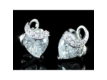 Kép 3/5 - Exclusive Swarovski kristályos szett szív alakú kővel, díszdobozban