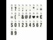 BLOCKBUSTER világító doboz mini fekete A6
