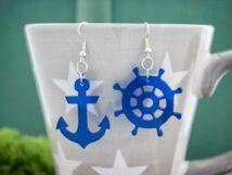 Kalózok a láthatáron plexi fülbevaló