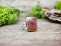 Karamell üveg gyűrű