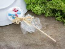 Kókuszos cukor nyalóka üveg medál