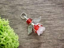 Piros angyal medál