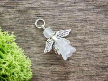 Fehér angyal medál