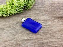 Kékség üveg medál