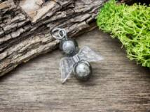 Megismerés angyal pirit ásvány medál