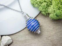 Kék angyalhívó nyaklánc