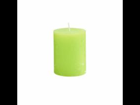 RUSTIC II. gyertya 9cm lime
