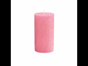 RUSTIC II. gyertya 13cm pink
