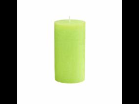 RUSTIC II. gyertya 13cm lime