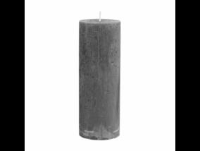 RUSTIC II. gyertya 19cm szürke