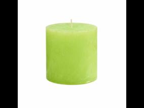RUSTIC II. gyertya 10cm lime