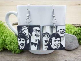 Monty Python plexi fülbevaló