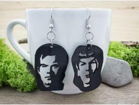 Star Trek plexi fülbevaló