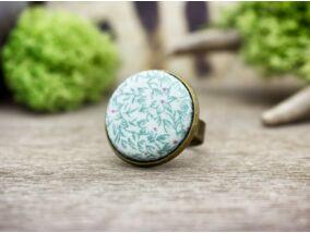 Harmatos kertem textil gombos gyűrű