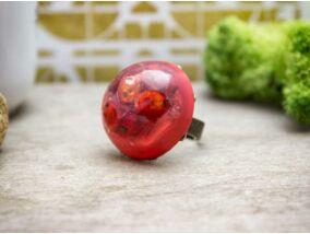 Borboly bogyó műgyanta gyűrű
