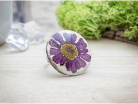 Őszi napsütés műgyanta gyűrű
