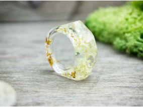 Nyári szirmok műgyanta gyűrű