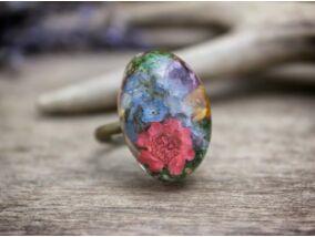 Hercegnő műgyanta gyűrű