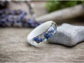 Kéknefelejcs műgyanta gyűrű