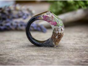 Tenger csillaga műgyanta gyűrű
