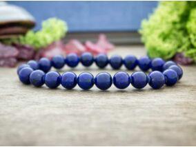 Lápisz lazuli ásvány karkötő