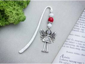 Piros angyal könyvjelző