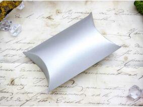 Ezüst színű hajtogatható papír ékszerdoboz