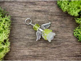 Zöld angyal medál