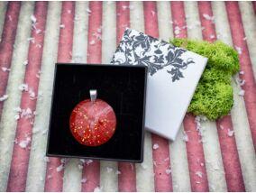 Bakszakáll magocska karácsonya gyanta medál