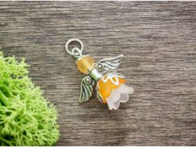 Narancssárga angyal medál