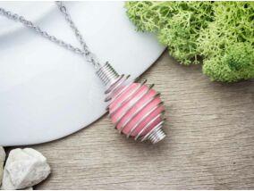 Pink angyalhívó nyaklánc