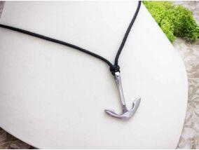 Horgony acél medálos paracord nyaklánc