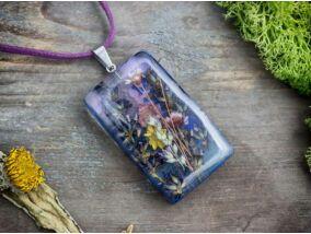 Provence-i nyár műgyanta nyaklánc