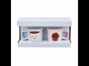 TWO FOR YOU eszpresszó bögre 2db Coffee Cupcake