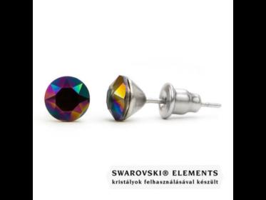 Jazzy színes Swarovski® kristályos fülbevaló