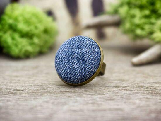 Farmer textil gombos gyűrű