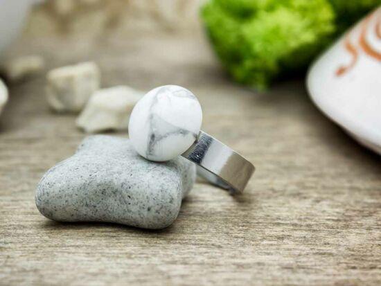 Stressz mentes howlit pöttöm acél gyűrű