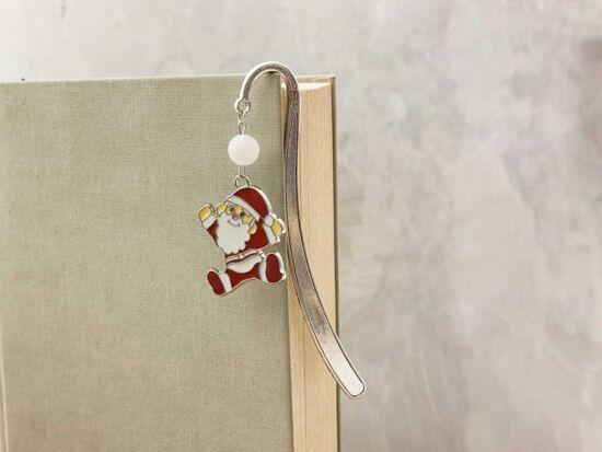 Mikulás karácsonyi könyvjelző
