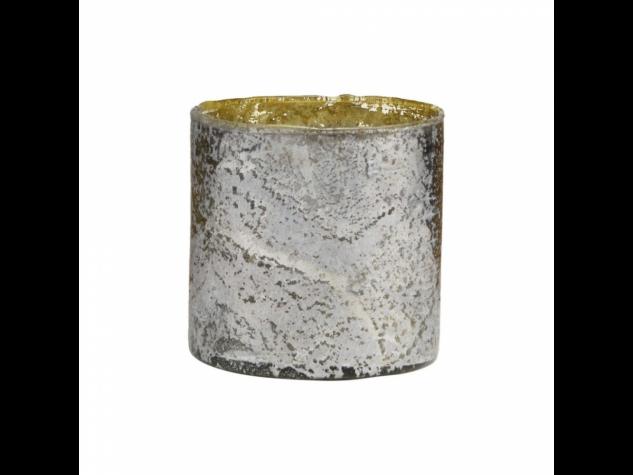 DELIGHT mécsestartó antik ezüst 11cm