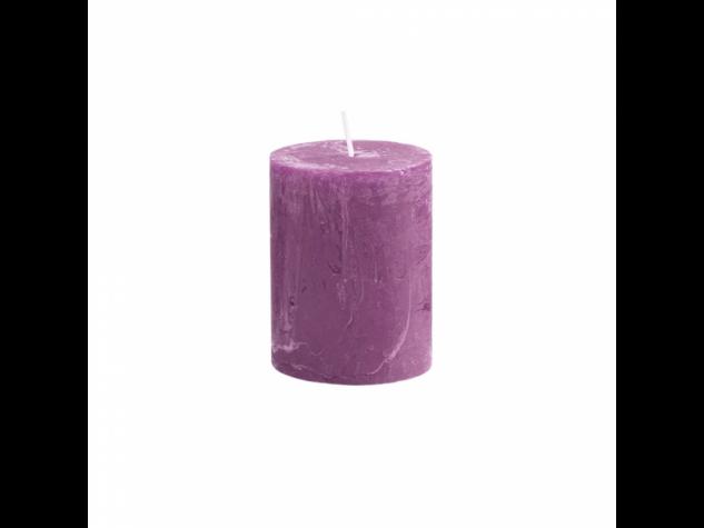 RUSTIC II. gyertya 9cm lila