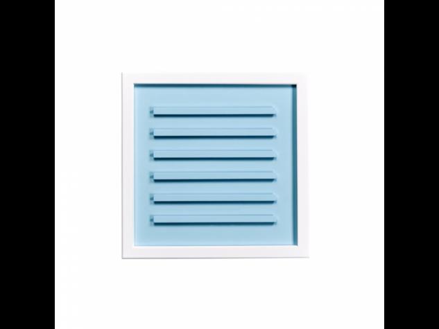 WORD UP betű tábla 30x30 fehér/világoskék